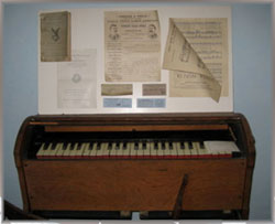 Early Reed Organ found at the Old Castle